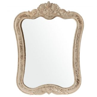 Oglinda din lemn Roseau