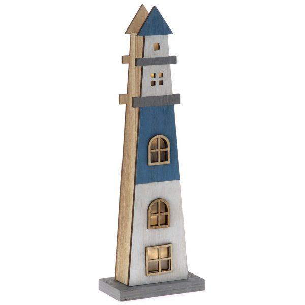 Decoratiune din lemn Lighthouse