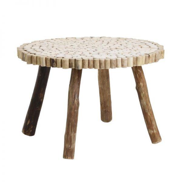Masa de cafea unicat din lemn Piny