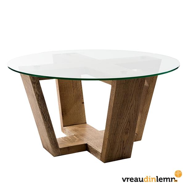 Masa de cafea din lemn